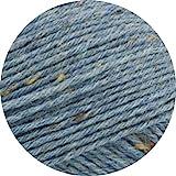 Lana Grossa Meilenweit 6-fach 150 Tweed Jeansblau 150g