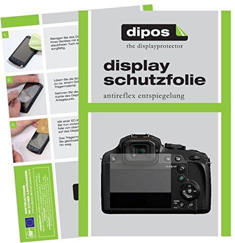 dipos I 6X Schutzfolie matt passend für Panasonic Lumix DMC-FZ82 Folie Displayschutzfolie