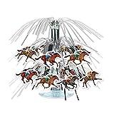 Carreras de Caballos Mini Cascade Centerpiece 19cm de alto