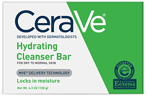 CeraVe Facial Cleanser, Hydrating Cleansing Bar, 4.5 Ounce by CeraVe