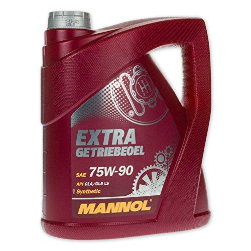 MANNOL Extra Getriebeoel 75W-90 API GL 4/GL 5 LS, 4 Liter