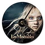 Les Miserables Isabelle Allen CD Clock 12cm