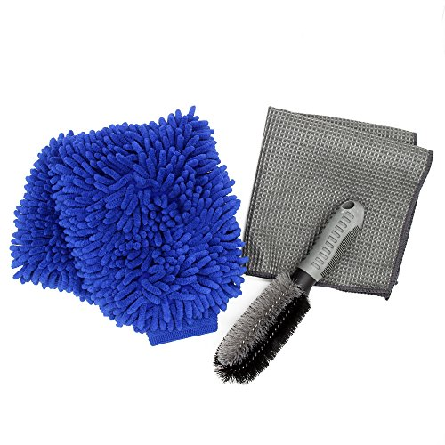 premium-microfiber-car-wash-mitt-glove2-pack-car-wheel-cleanning-brush-soft-alloy-brush1-pack-with-f