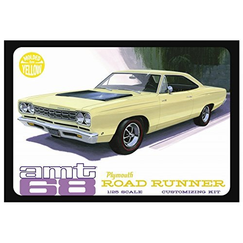 amt-amt849-12-1-25-68-plymouth-roadrunner-yellow-by-amt