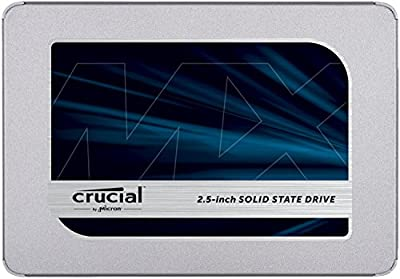 Crucial MX500 2.5-Inch 3D NAND SATA Internal Solid State Drive