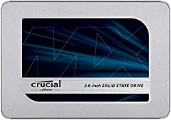 Crucial Mx500 Ct500mx500ssd1 500 Gb Internal Ssd (3d Nand, Sata, 2.5 Inch)