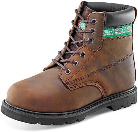 Click - Calzado de protección para hombre Marrón marrón 42 EU