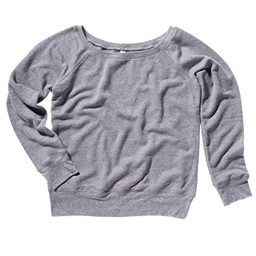 Bella Canvas - Sweat-shirt -  Femme gris - Gris
