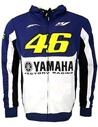 Valentino Rossi VR46 M1 Yamaha Racing Team Moto GP sweat à capuche 2016 officiel