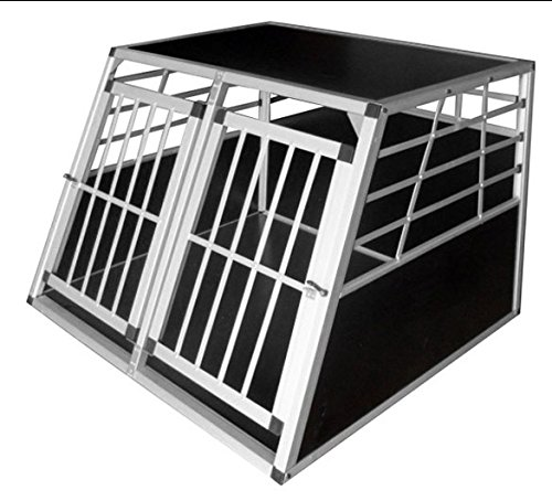 Hundetransportbox Hundebox Autotransportbox Reisebox Aluminium Transportbox