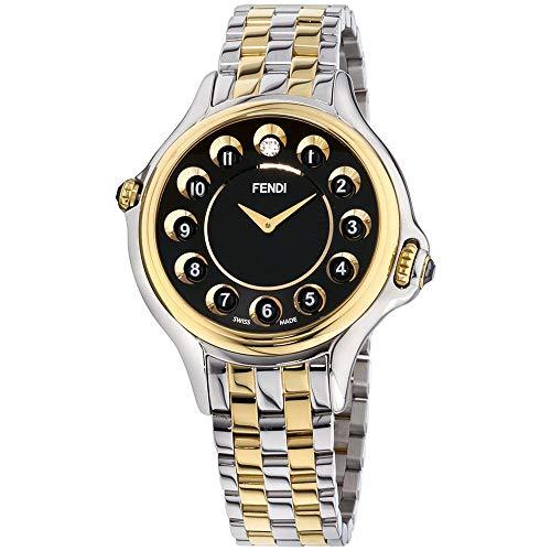Fendi Women's Crazy Carats 38mm Two Tone Steel Case Quartz Watch F107131000T07