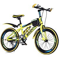 LETFF Bicicleta Plegable para Adultos de 22 Pulgadas de Velocidad Bicicleta de montaña Bicicleta de Estudiante