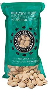 Nutty Gritties Premium Roasted & Salted Pistachios - 250g