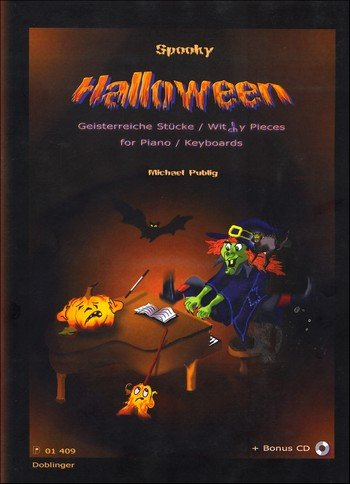 Spooky Halloween Geisterreiche Stücke + CD