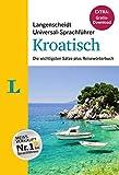 Langenscheidt Universal-Sprachführer Kroatisch - Buch inklusive E-Book zum Thema 'Essen & Trinken': Die wichtigsten Sätze plus Reisewörterbuch