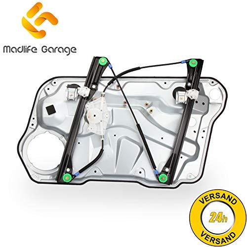 Madlife Garage 1J4837461D Elektrisch Fensterheber Komplett Metallplatte Vorne Links Ohne Motor Bora 1J2 1J6 Golf IV IV