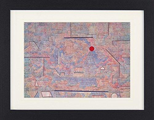 1art1 113646 Paul Klee - Das Licht und Etliches, 1931 Gerahmtes Poster Für Fans und Sammler 40 x 30 cm