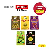 #3: Toiing Return Gift Combo - Pack of 5 Fun Educational Card Games for Kids 5 to 8 Years