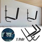 GOTOTOP 1 Paire de Porte-Kayak Surf Pagaie Charge Max. 70KG Support Rangement Mural Accessoires de Montage...