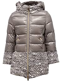 Herno 6033X Cappotto Bimba Girl Grey Piumino Jacket