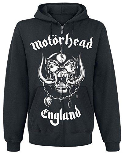 Motörhead England Hooded zip black L