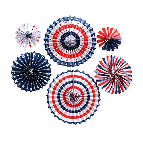 4. Juli Independence Day Ballon Dekoration Set US National Day Feier Party Arrangement Patriotische Dekoration Ballon -