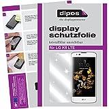 dipos I 6X Schutzfolie klar passend für LG K8 LTE Folie Displayschutzfolie