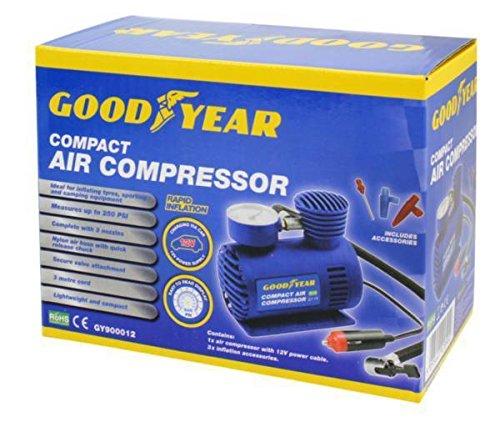Goodyear 900012 - Mini compresor de Aire