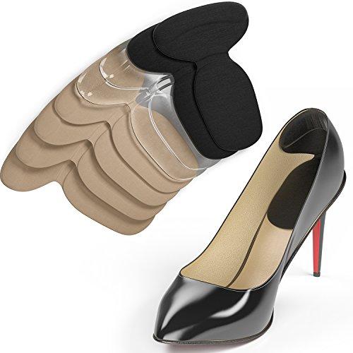 Ballotte Fersenhalter für zu große Schuhe - Schuheinlagen aus Gel - Fersenpolster - Fersenschutz (Medizinische Schuheinlagen)