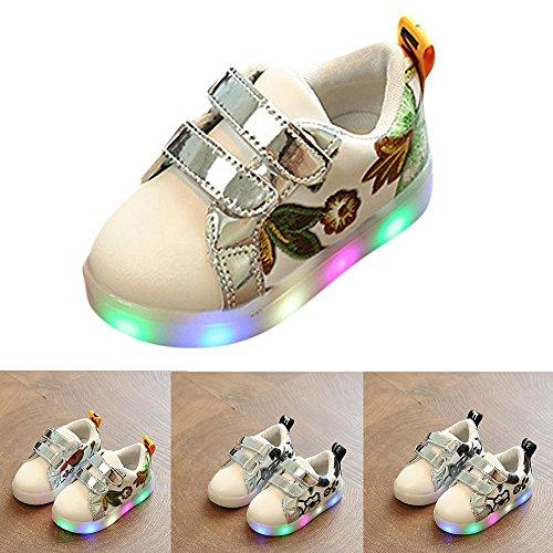 zapatos-bebe-nia-invierno-Sannysis-Zapatilla-Deportiva-Baja-Con-Luz-zapatos-led-nio-zapatos-princesa-nias-de-Colores-de-luces-reflectantes-de-seguridad-decoracin-de-flores