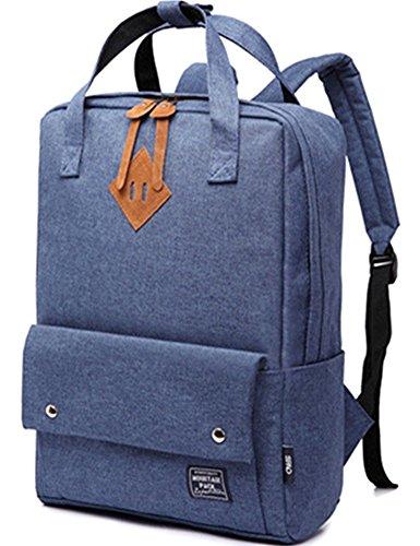 bloomstar-escuela-de-moda-ligera-mochila-portatil-bandolera-mochila-casual-viaje-mochila-azul