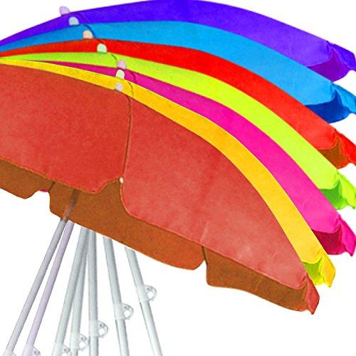 Sonnenschirm Strandschirm Schirm Gartenschirm Ampelschirm Sonnenschutz (Gelb)