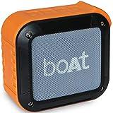 boAt Stone 200 Portable Bluetooth Speakers (Orange)