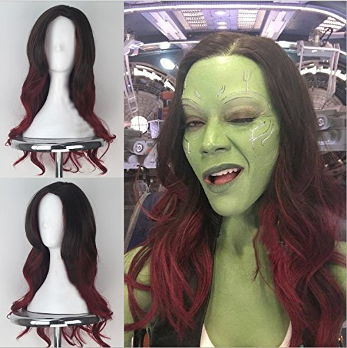 Blue Bird Guardians of the Galaxy, Gamora, Cosplay-Perücke, -