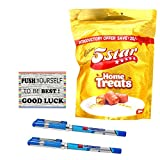 #7: Branded Pen with 5 star Home Treat for Exam Gift