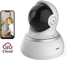 YI Telecamera di Sorveglianza 1080p IP Camera Videocamera WiFi 360° con Sensore Movimento Visione Notturna per...