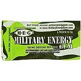 STAY ALERT Military Caffeine Energy Gum - SPEARMINT - 1 Packungen - Wach-Bleib-Kagummi