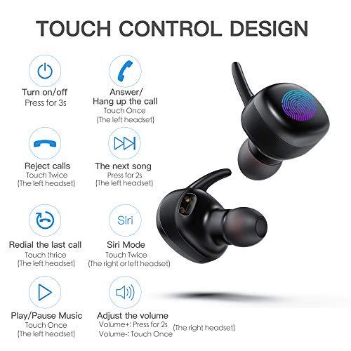TEMINICE wireless cuffie Bluetooth 34e219cef899