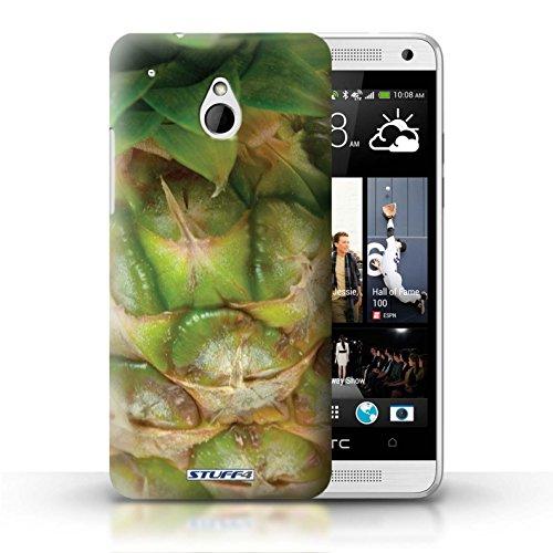Kobalt® Imprimé Etui / Coque pour HTC One/1 Mini / Melon d'eau conception / Série Fruits Ananas