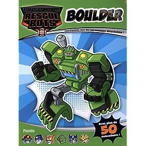 Boulder : Livre d'activités avec des personnages détachables !