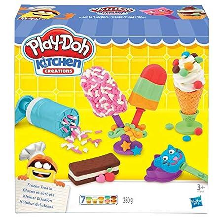 Hasbro Play-Doh E0042EU4 – Kleiner Eissalon Knete, für fantasievolles und kreatives Spielen