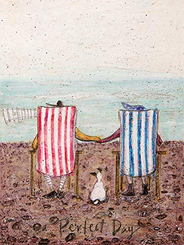 Sam Toft 'Perfect Day' Kunstdruck auf Leinwand,30 x 40 cm