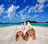 blueberryshop bestickt Frottee Kapuzen Bad/Pool/Strand Badetuch für Baby/Kleinkind, groß, blau