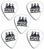 Muse ( Classic Logo Range) Premium Gitarre Plektrum Plektron Picks x 5