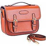 Sunmns Retro Vintage Style PU Leather Case Bag With Shoulder Strap For Fujifilm Instax Mini 8/ 8+/ 70/ 50/ 7s/ 26+/ 90/ 25 Film Camera