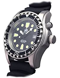 "Tauchmeister diver watch ""Automatic Movt."" Sapphire glass - Helium Velve T0257"