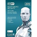ESET Multi Device Security 2016 - 5 Geräte (Frustfreie Verpackung)