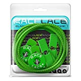 Neon Green Elastic Shoelaces - No Tie Lock Laces For Shoes | Use For Running and Triathlon | Great For Kids & Seniors | 8 Colours