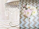 trlyc 127x 215,9cm Rechteck Shinny Elegante Pailletten Tischdecke Sparkly Tisch Stoff Farben sind erhältlich, Sonstige, champagne chevron, 50