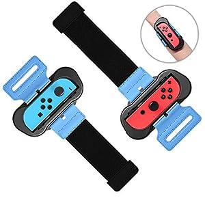 [2Pack] Für Just Dance 2020/2019 Armband für Nintendo Switch Joy Con Controller, FASTSNAIL Wrist Band Straps Armbinde…